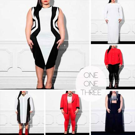 One One Three, Plus Size Clothes