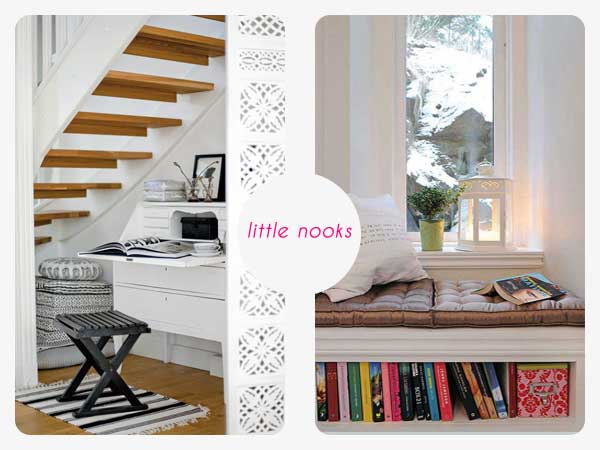 little storage nooks
