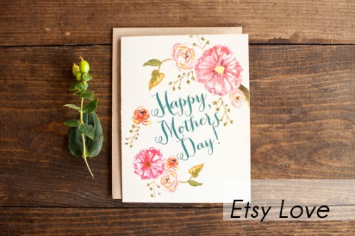 mothers day card from etsy