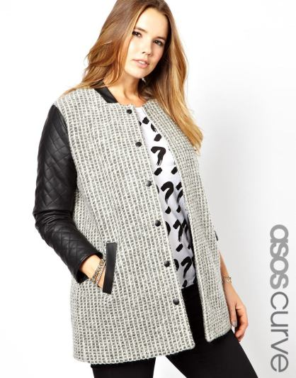 cute plus size coats