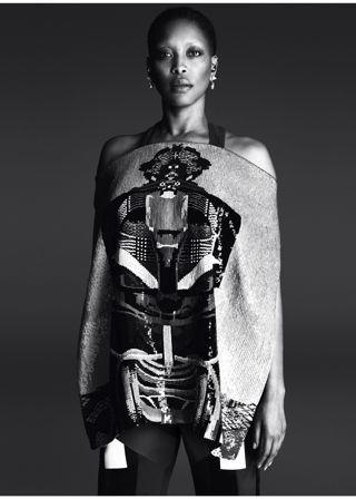 Erykah Badu Models Givenchy's Spring Campaign