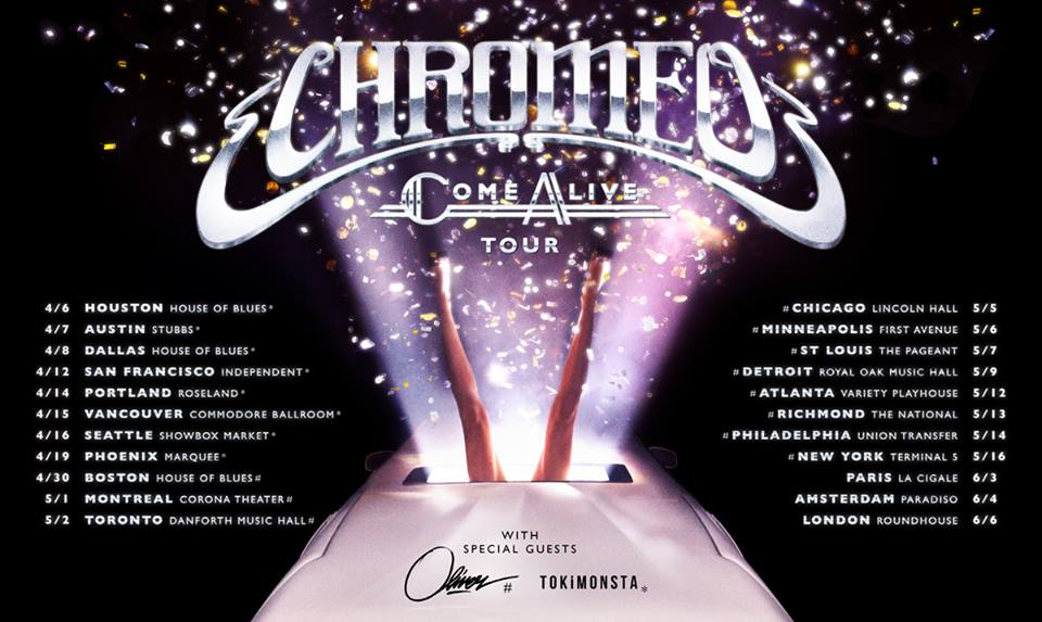 Chromeo and toro y moi