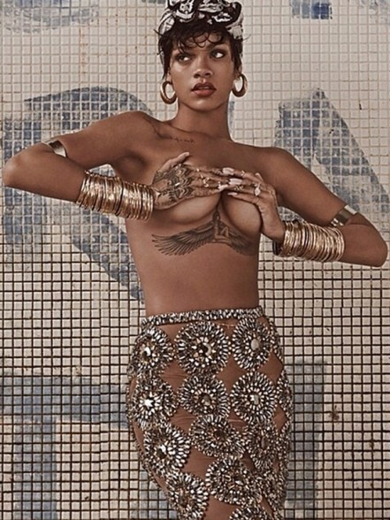 Rihanna for Vogue Brasil
