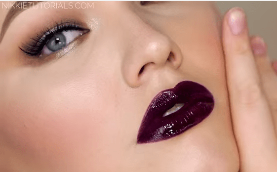 vampy fall lip color