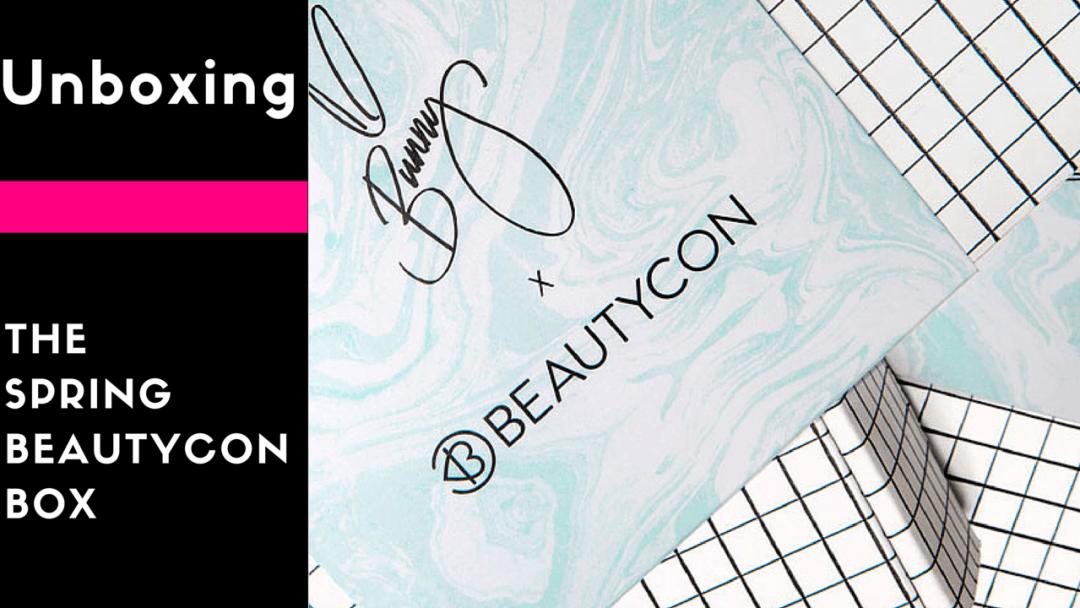 Spring 2016 Beautycon Box