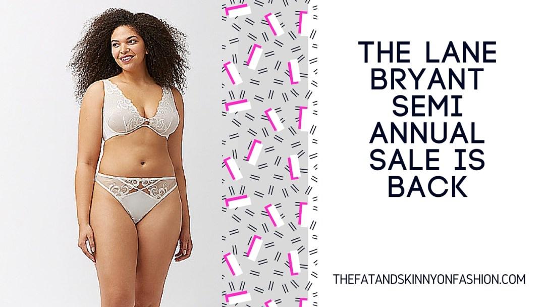 Lane Bryant Semi Annual Sale