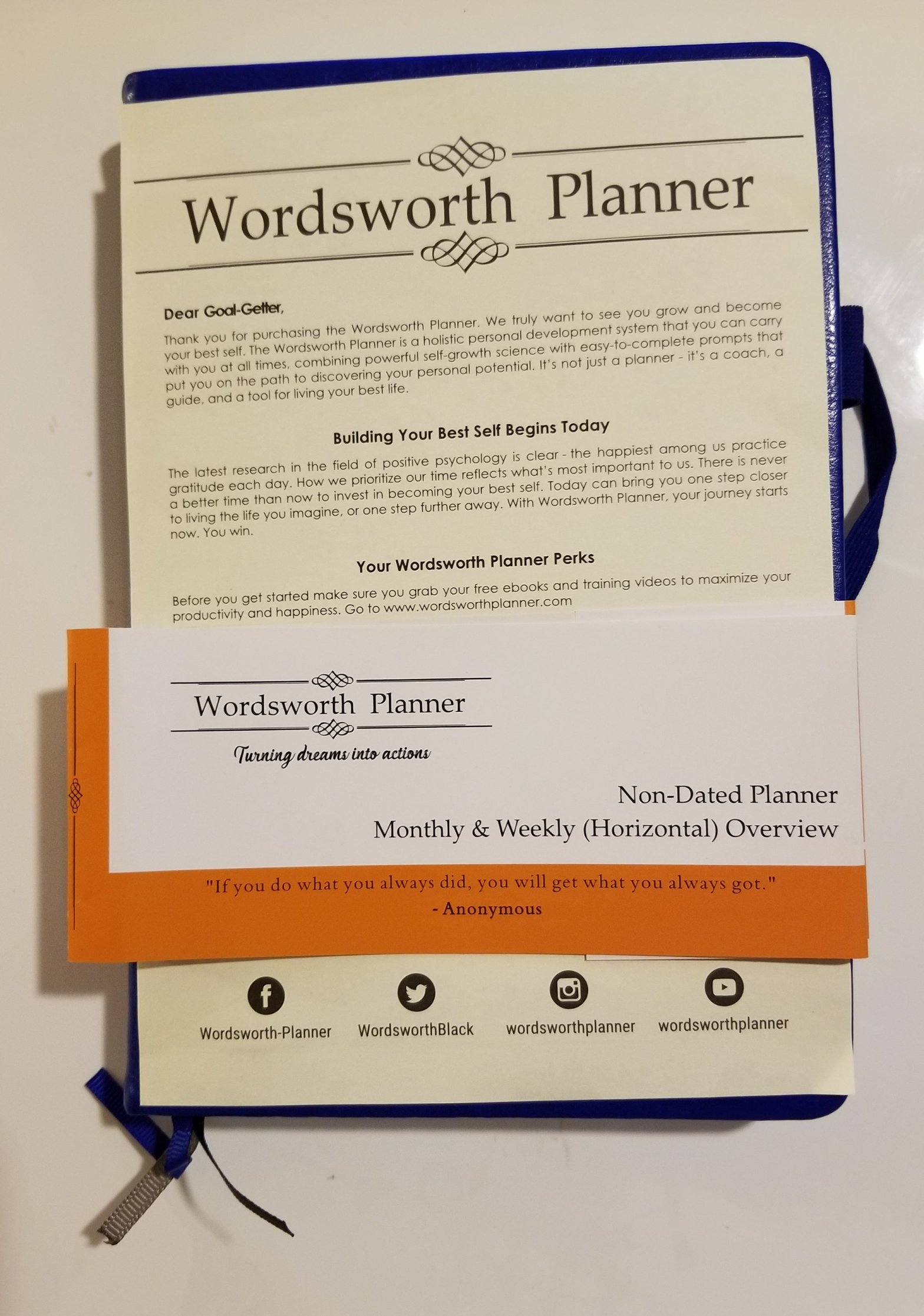 Wordsworth Planner