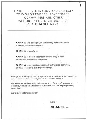 What is Chanel
