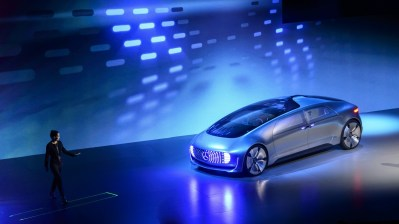 World premiere of the Mercedes-Benz F 015 Luxury in Motion at the CES, Las Vegas 2015Weltpremiere des Mercedes-Benz F 015 Luxury in Motion auf der CES, Las Vegas 2015