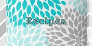 recipes sign