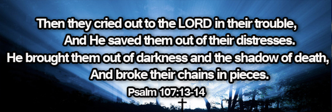 Image result for Psalm 107:13-16