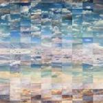 View of the Sky Collage of Found Photographs