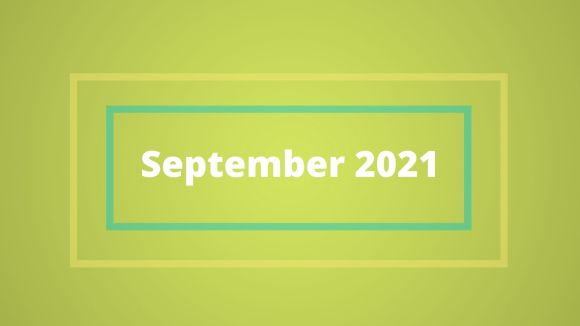 What happened in September 2021?