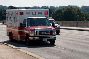 ambulance ride