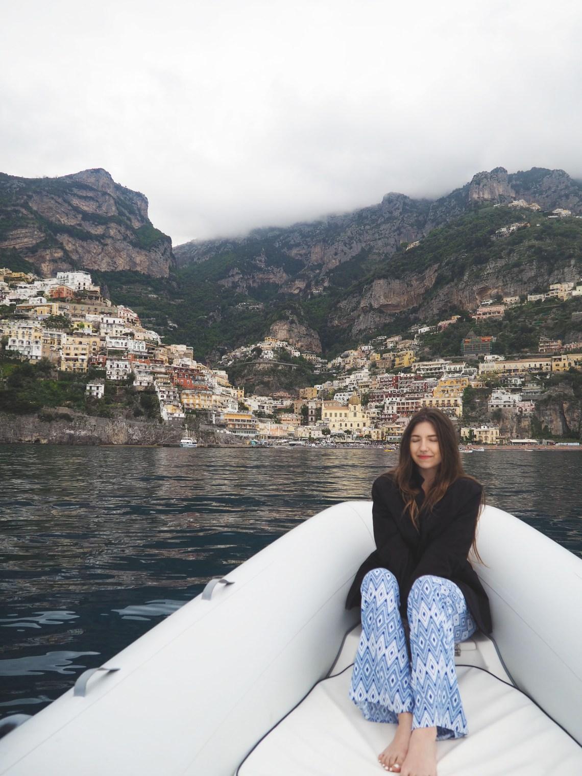 A Romantic Getawayin Positano