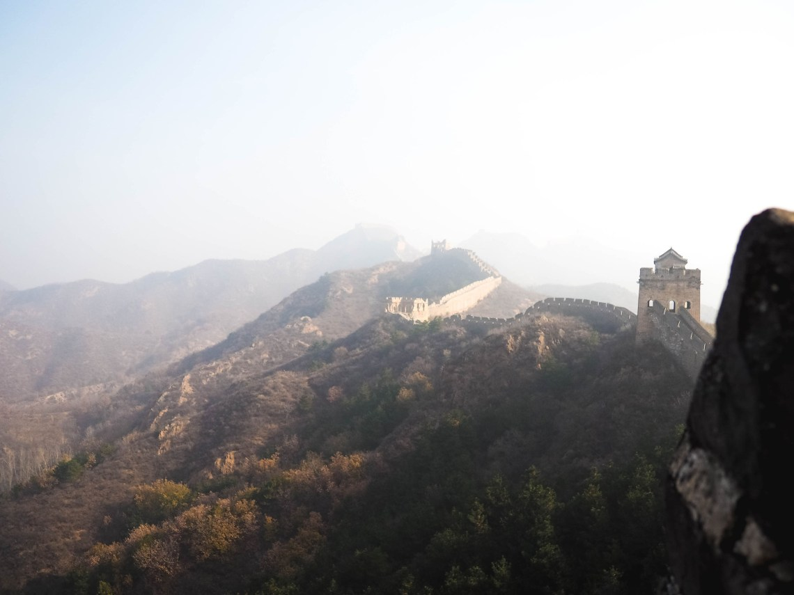 A Beautiful Great Wall Hiking Tour In Jinshaling