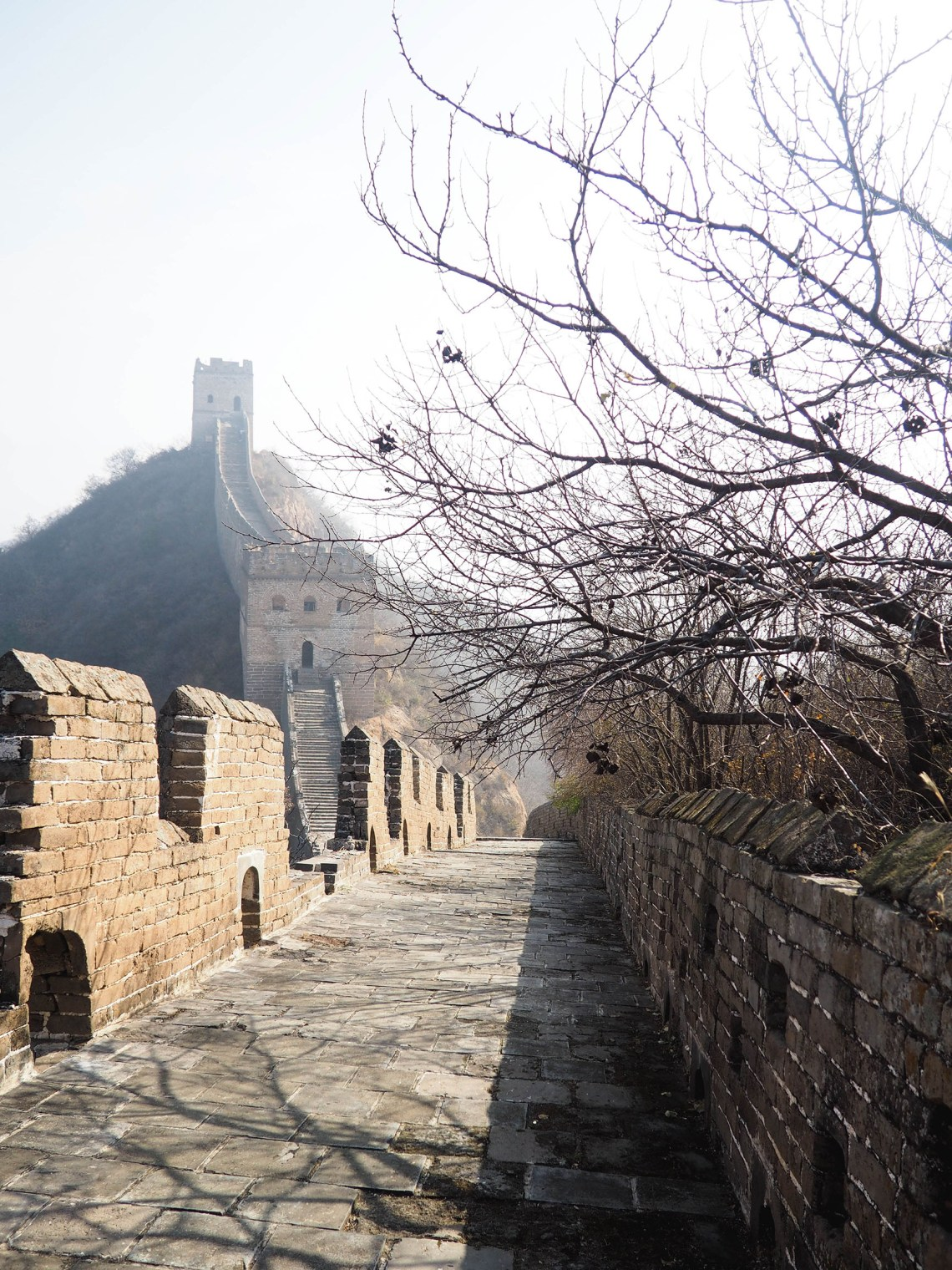 Great Wall Morning Hiking Tour In Jinshaling