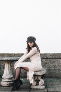 topshot knit dress