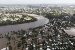 The 2011 Brisbane flood.