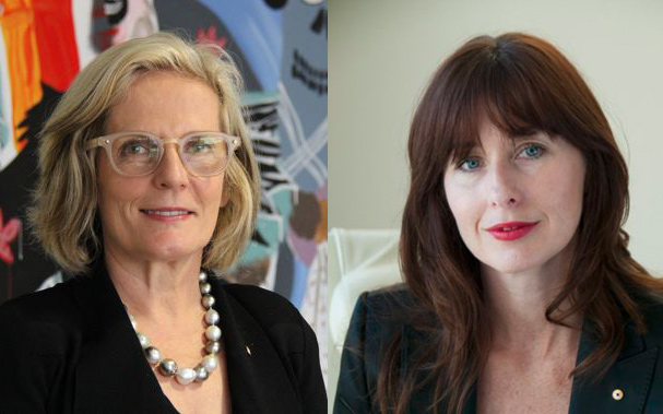 Lucy Turnbull (left) and Maria Atkinson (right).