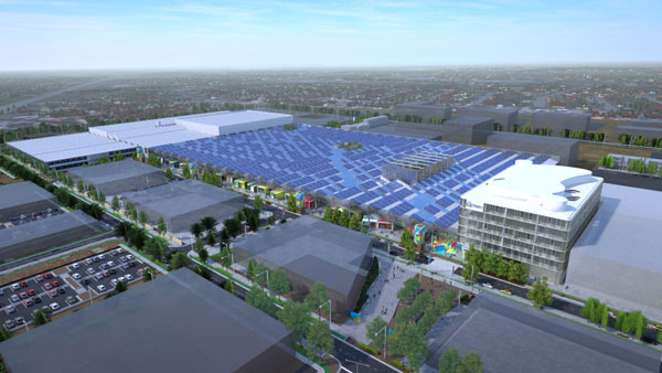 An artist's impression of the Tonsley redevelopment.