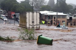 The 2011 Toowoomba floods.