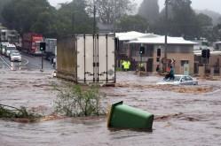 The 2011 Toowoomba floods.