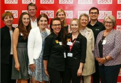 The 2015 Big Idea winners and judges