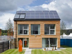 The Larch zero carbon house by bere:architects