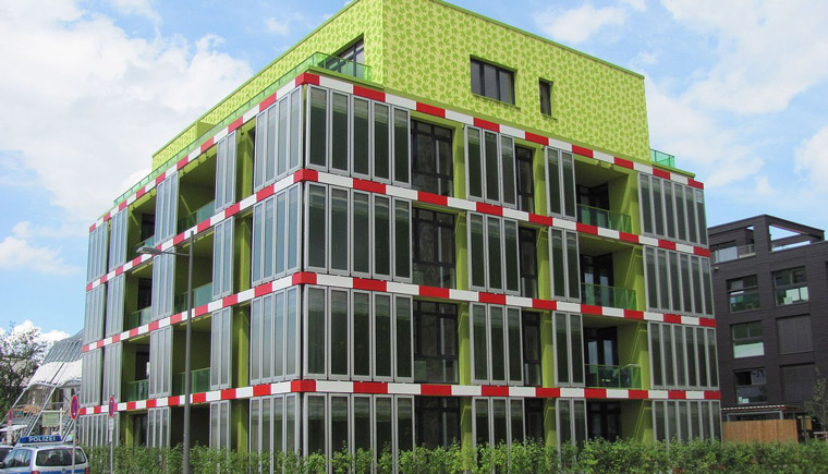 The BIQ House in Hamburg
