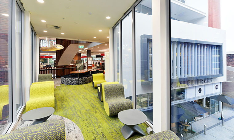 Sustainable healthy spaces celebrated at green interior awards ck design international australias rockdale library and council customer service centre fandeluxe Choice Image