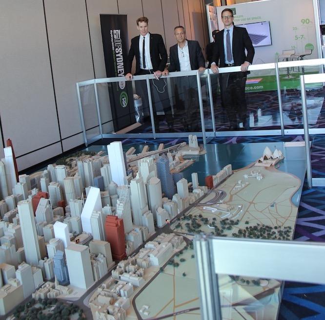 model of Sydney city