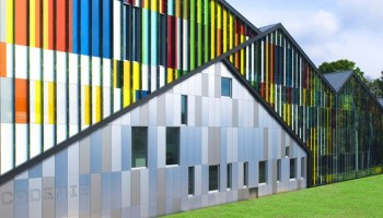 colourful, cladding, aluminium