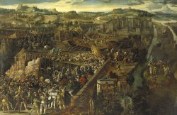 The Battle of Pavia by an unknown Flemish artist