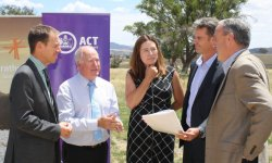 The ACT will become host to a gas-free suburb