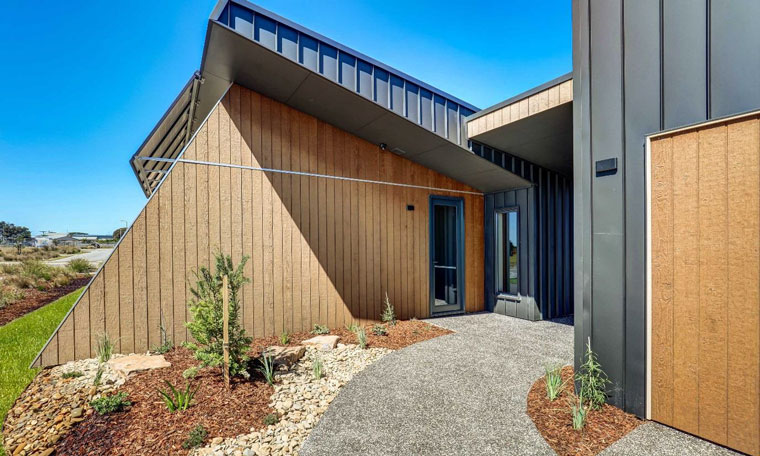 One of the driving principles behind the core home is to be carbon positive through passive solar design energy efficiency and renewables