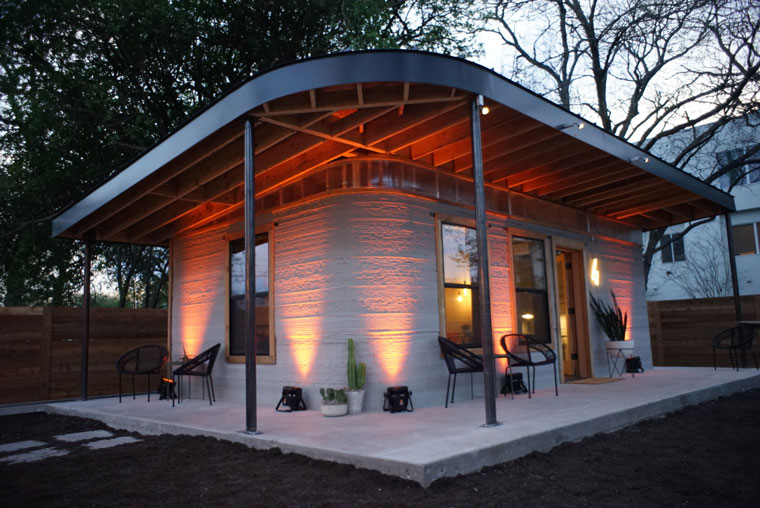This 3D-printed house could help reduce global homelessness