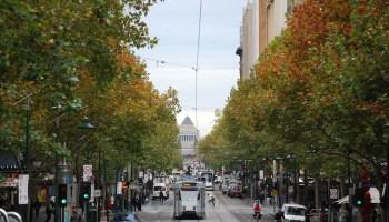Melbourne Swanston street