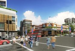 Parramatta Road, Burwood. Indicative artist's impression, subject to change and subject to approvals.