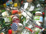 glass recycling waste