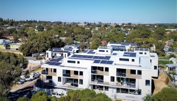blockchain energy on Evermore apartments
