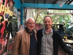 Peter Head (left) and Stephen Passmore