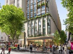 Bourke Street Precinct Concept image - City of Melbourne