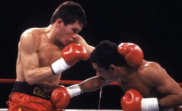 Image result for Julio Cesar Chavez vs Edwin Rosario