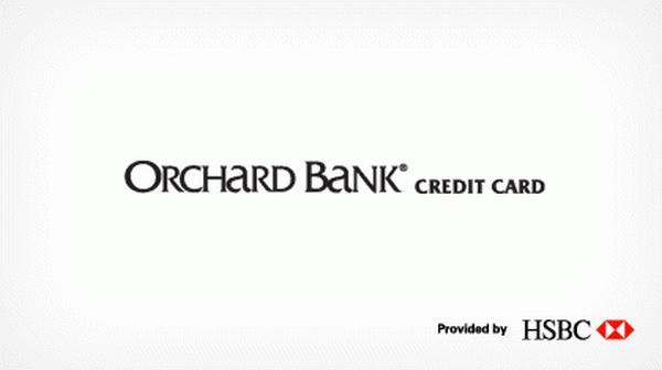 Apply Orchard Bank Card