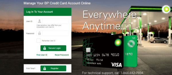 Chase BP Credit Cards