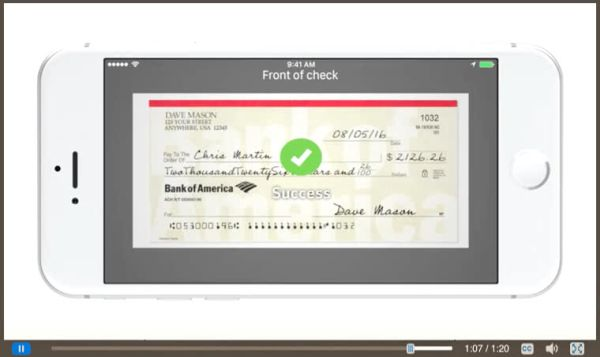 Bank of America Online Check Ordering