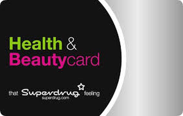 Superdrug Beautycard