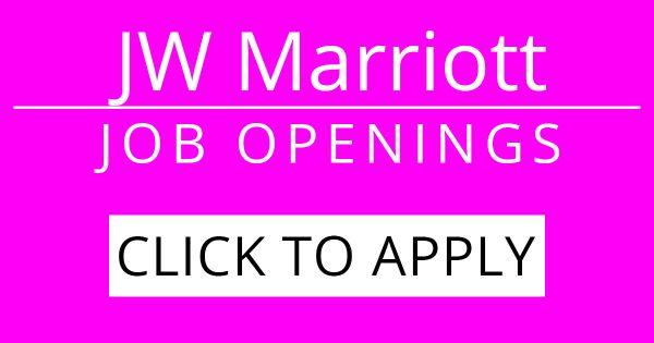 Apply Marriott Jobs