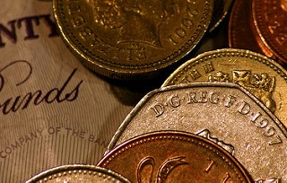 Tips on Teaching Children About Money - British notes and coins image
